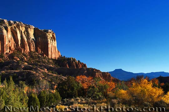 ghost ranch: kitchen mesa and pedernal