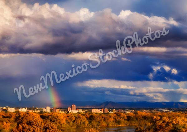 Downtown Albuquerque and Rainbow I