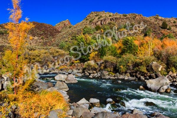 Fall: Rio Grande at Taos Junction I